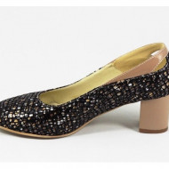 Pantofi dama eleganti din piele naturala cod P319