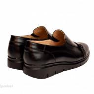 Pantofi dama negri casual-eleganti din piele naturala cod P191