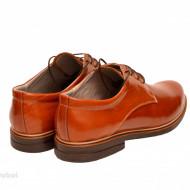 Pantofi maro barbati piele naturala casual-office - cod P172M