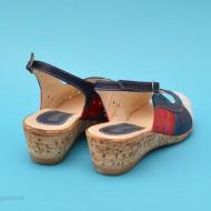 Sandale dama casual - elegante din piele naturala cod S42