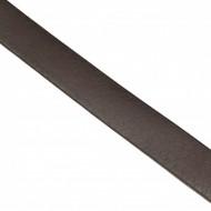 Curea piele naturala casual-eleganta maro inchis (latime 3,5 cm) - Curea maro C103