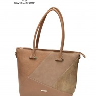 Geanta camel dama originala David Jones 5631-4DCAMEL