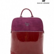 Geanta dama originala David Jones 5846-1BORDO - Rucsac David Jones bordo