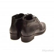 Ghete elegante dama piele naturala Negre cod G30 - Made in Romania