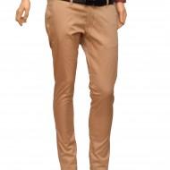 Pantaloni Slim Fit Bej bumbac - Pantaloni barbati casual-eleganti bej PN24