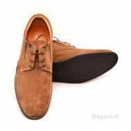 Pantofi capucino barbati piele naturala velur casual-office - cod P121