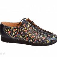 Pantofi dama lucrati manual din piele naturala cod P195