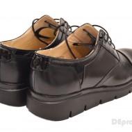 Pantofi dama negri casual-eleganti din piele naturala cod P32