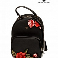 Geanta dama originala David Jones 5645-2BLACK - Rucsac David Jones negru