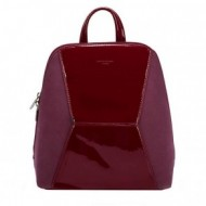 Geanta dama originala David Jones 5832-2BORDO - Rucsac David Jones bordo