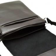 Geanta unisex piele Casual Office (Negru) - 27 x 22 cm - Borseta unisex pentru tableta