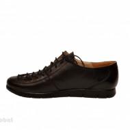 Pantofi dama negri casual-eleganti din piele naturala cod P79N
