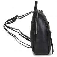 Rucsac negru David Jones CM6025BLACK- Geanta sport dama