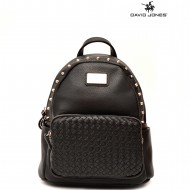 Geanta dama originala David Jones CM3525BLACK - Rucsac David Jones negru