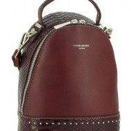 Geanta sport dama David Jones 5825-2DBORDO - Rucsac bordo David Jones