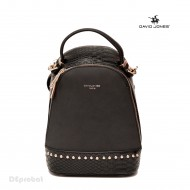Geanta sport dama originala David Jones CM3719BLACK - Rucsac negru David Jones