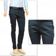 Pantaloni Slim Fit Turcoaz bumbac - Pantaloni barbati casual-eleganti PN21