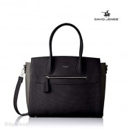 Geanta neagra dama David Jones originala CM3948BLACK-DSILVER