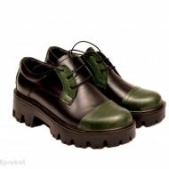 Pantofi dama lucrati manual din piele naturala cod P151