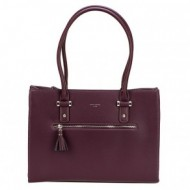 Geanta bordo dama David Jones originala CM3930BORDEAUX