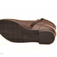 Ghete dama piele naturala Maro casual-elegante cod G14M - Made in Romania