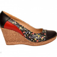 Pantofi dama eleganti - casual din piele naturala cod P192