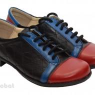 Pantofi dama sport-casual din piele naturala cod P31
