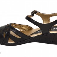 Sandale dama piele naturala negre cod S13