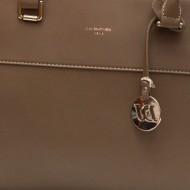 Geanta dama maro piele originala David Jones 5617-2DTAUPE - Model cu 3 compartimente