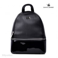 Geanta dama originala David Jones 5827-1BLACK - Rucsac David Jones negru