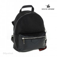 Geanta dama originala David Jones CM3712BLACK - Rucsac panzat David Jones negru