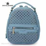 Geanta dama originala David Jones CM3775PALEBLUE - Rucsac David Jones bleu