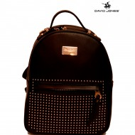 Geanta sport dama originala David Jones CM3726BLACK - Rucsac negru David Jones