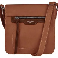 Geanta unisex 6101-2BROWN - 25 x 24 cm - Borseta maro David Jones