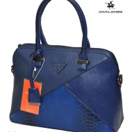 Geanta dama originala David Jones 5020-1BLUE