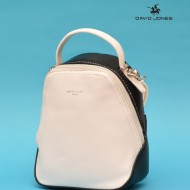 Geanta sport dama originala David Jones 5705-2WHITE-BLACK - Rucsac David Jones