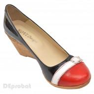 Pantofi dama eleganti - casual din piele naturala cod P37