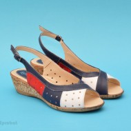 Sandale dama casual - elegante din piele naturala cod S42 - LICHIDARE STOC 38