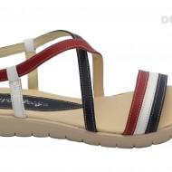 Sandale dama piele naturala cu talpa joasa cod S19