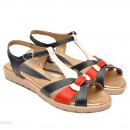 Sandale dama piele naturala cu talpa joasa cod S41