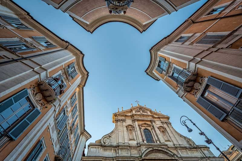 Tablou Biserica Sfantul Ignatiu Italia