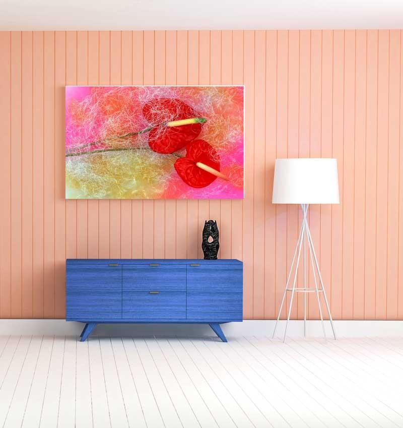 Tablou Floare Flamingo