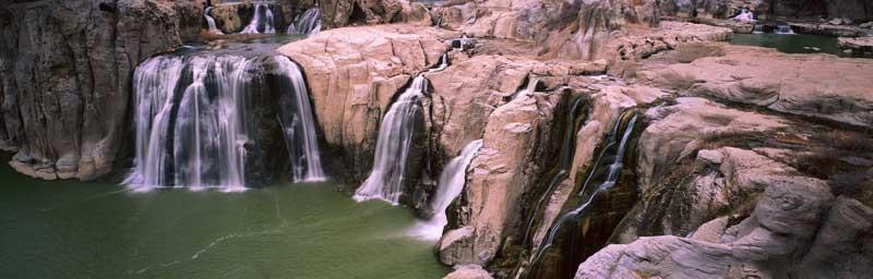 Tablou Multicanvas Cascada