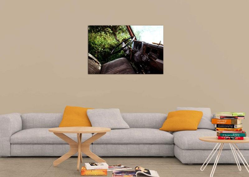 Tablou Jeep Retro