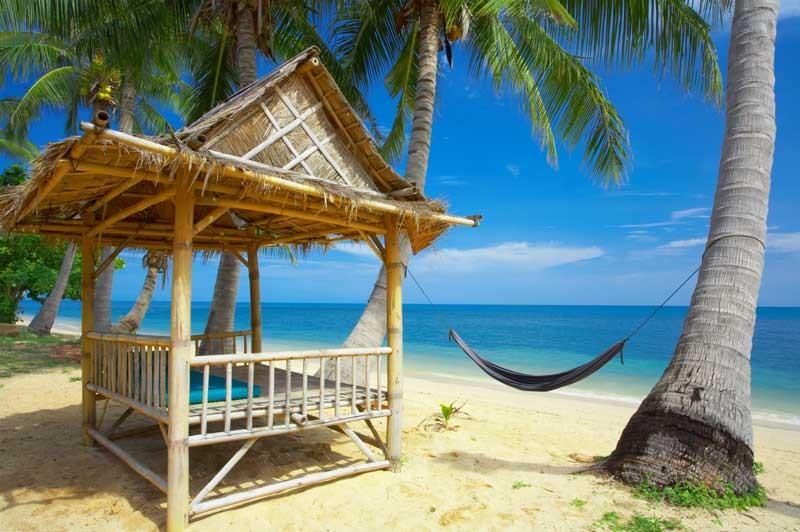 Tablou Plaja Tropicala