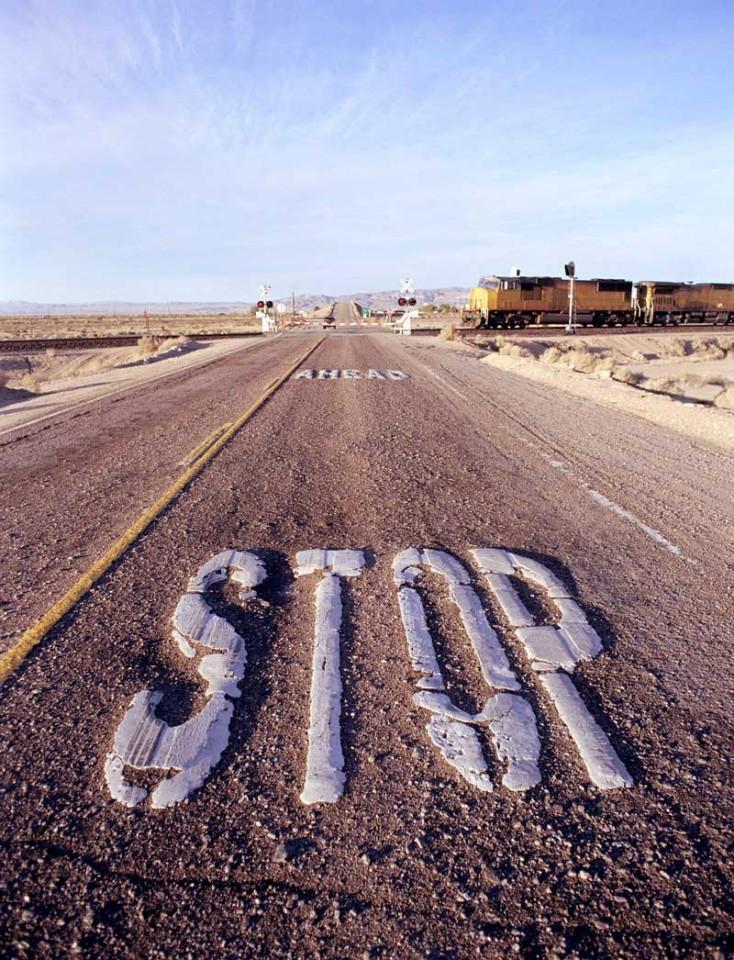 Tablou Stop