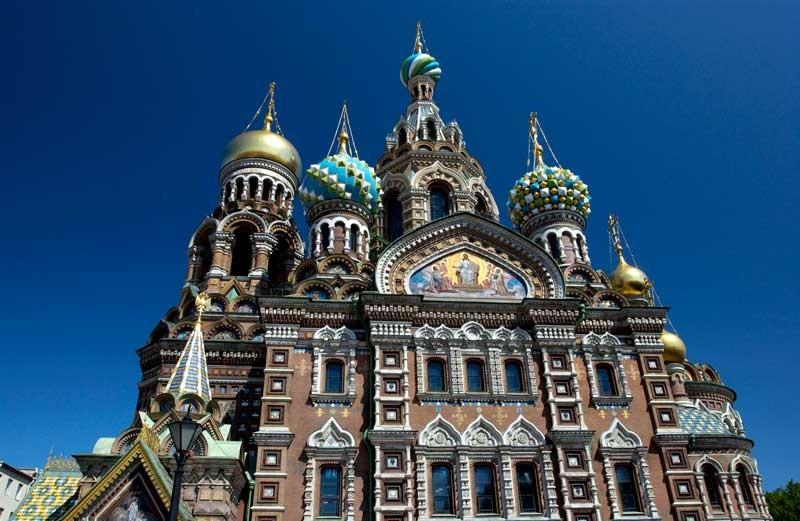 Tablou Biserica St Petersburg