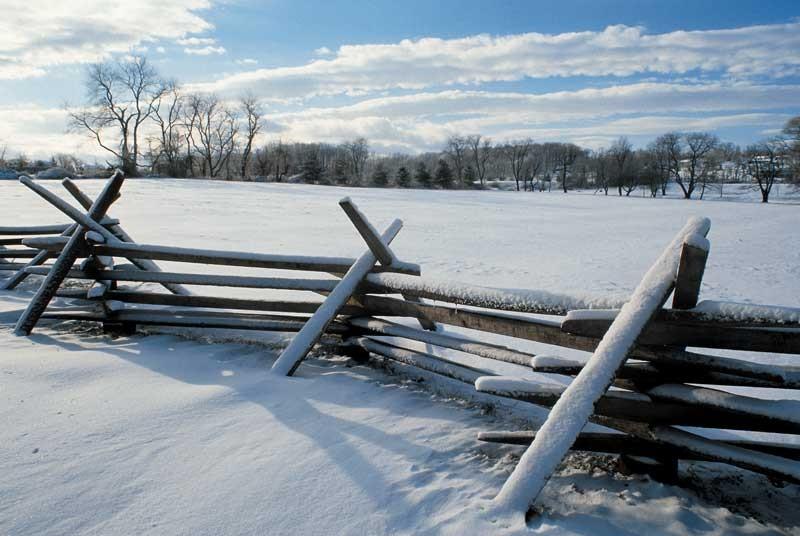 Tablou Peisaj de Iarna