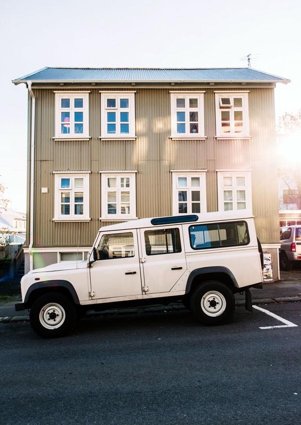 Tablou Jeep parcat