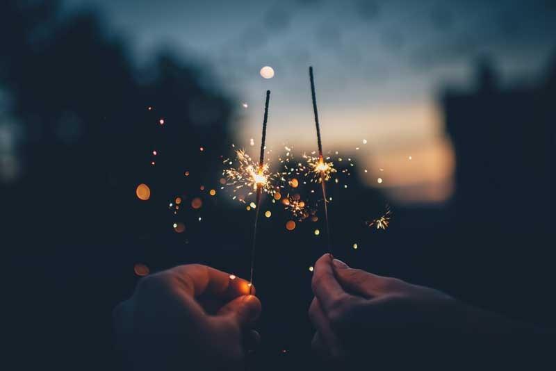Tablou Artificii